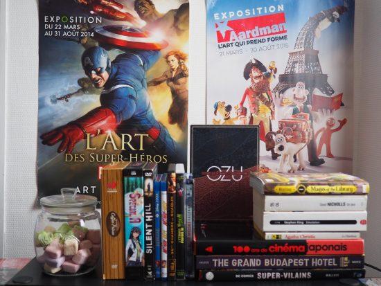 Livres et DVD