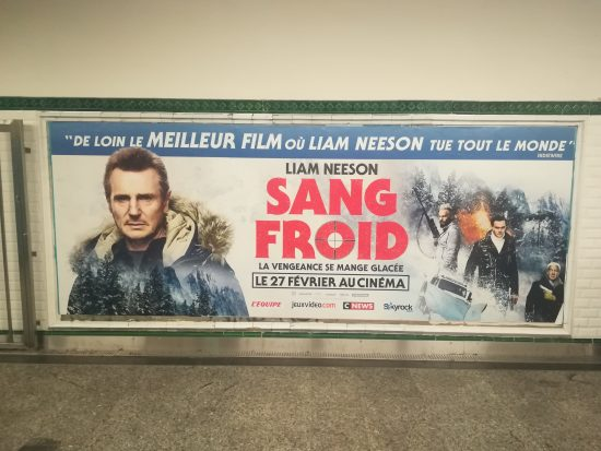 Sang froid Liam Neeson