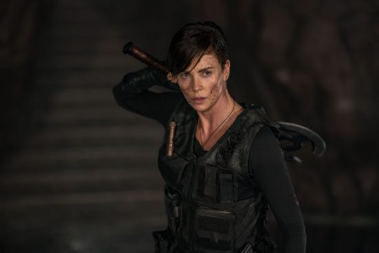 THE OLD GUARD Charlize Theron